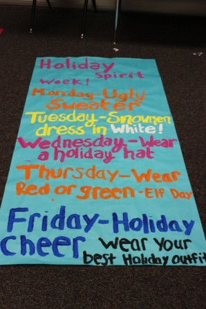 Titan nation holiday spirit week