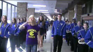 LIP DUB RIGHT AROUND THE CORNER