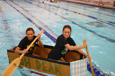 Rip or Row! Advanced Physics classes take on annual Boat Regatta