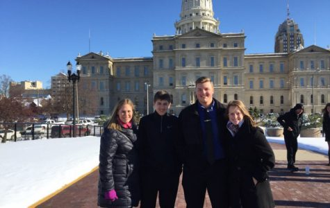 CIVICS STUDENTS ATTEND ELECTORAL COLLEGE VOTE AT STATE CAPITOL