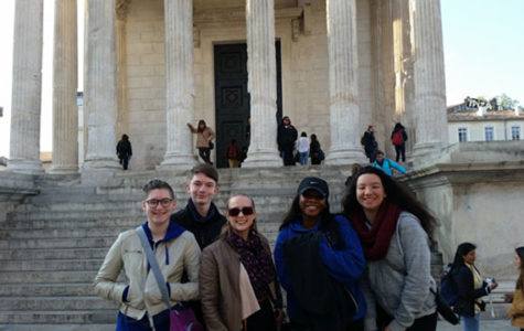 STUDENTS TAKE ON EUROPE
