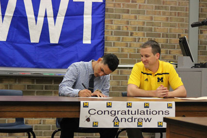 CAPONE SIGNS TO PLAY COLLEGIATE BASEBALL AT U of M DEARBORN