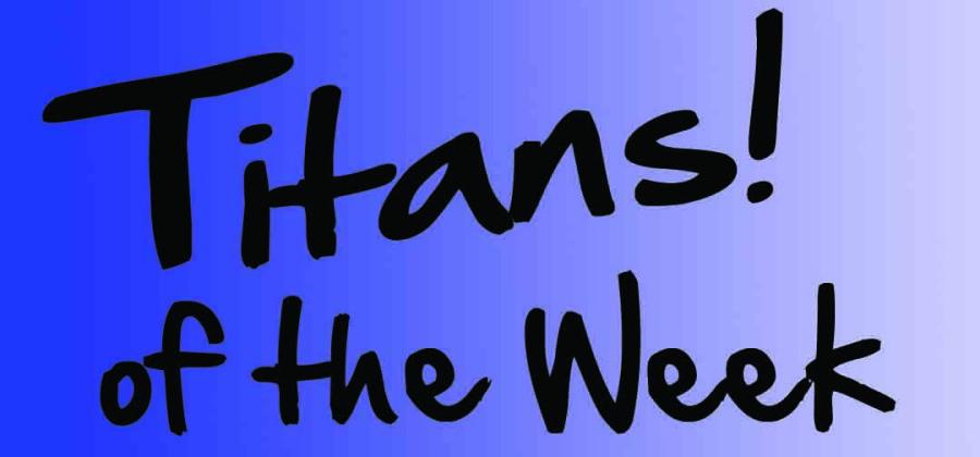 Titan of the Week 10/1