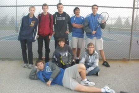 Varsity tennis aces their division, looks towards states