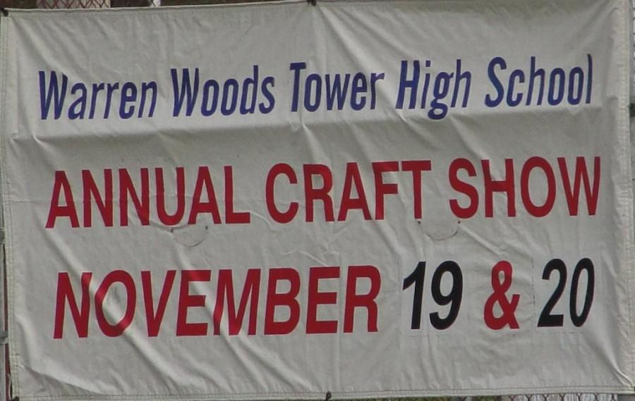 Warren Woods Tower prepares for the annual craft show.