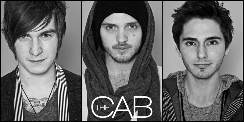 The Cab's three recent band members
