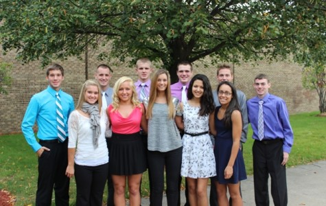 Announcing your homecoming court!