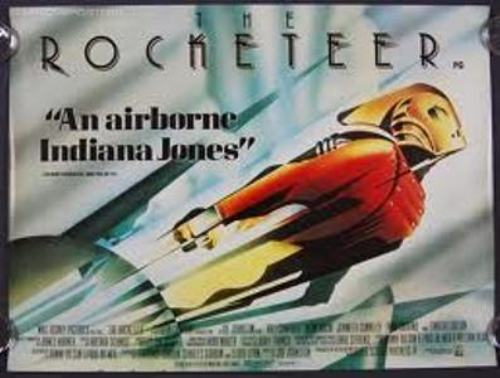 The Rocketeer is exciting for any adventure fan