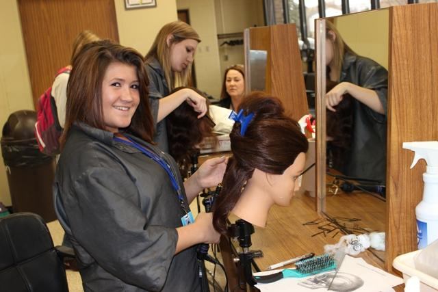 Warren Woods Tower provides varied career opportunities for Cosmetology students