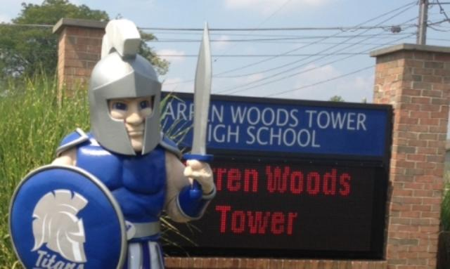 Tower gets a jump in spirit with new mascot