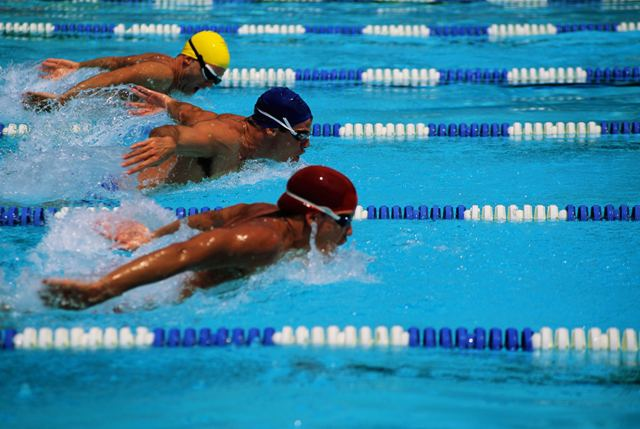 Boy's swim opens with a victory