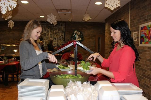 Locally grown food utilized in WWT student-run restaurant