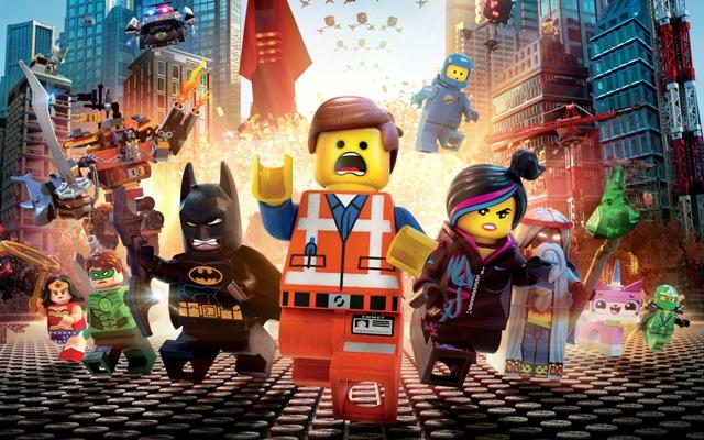 The great build of The Lego Movie makes it an excellent film