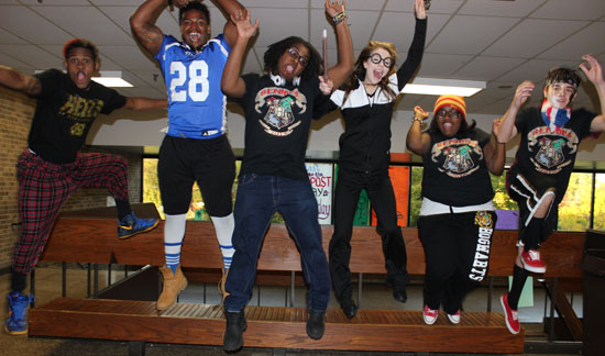 CLICK HERE to see all the Spirit Week photos at once...
