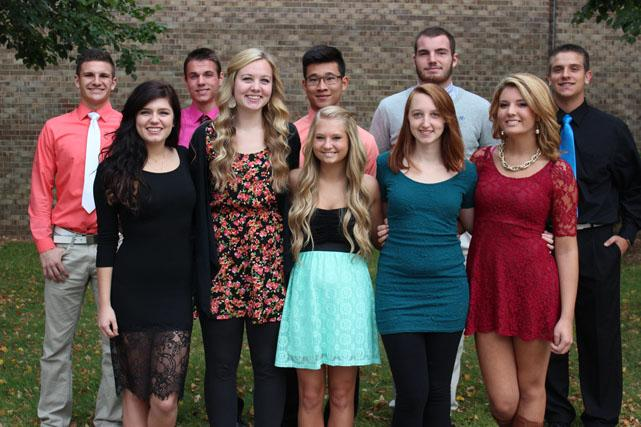 HOMECOMING COURT 2014! Click here to see all the pictures...