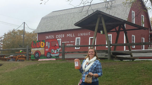 Pumpkins, donuts, and cider oh my... Cider mills are a must visit this fall!