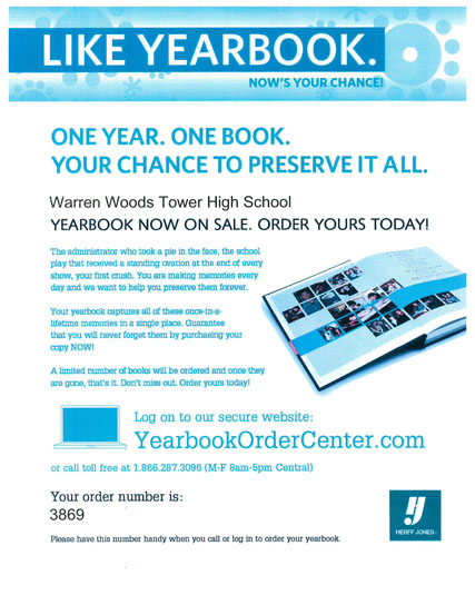 BUY A YEARBOOK!!! Click this link to see all the information on the flyer...