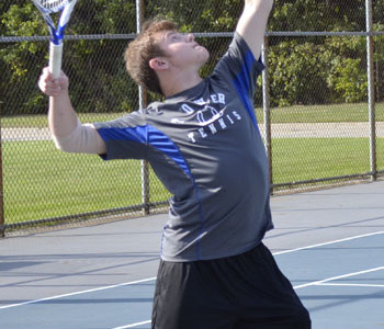 VARSITY TENNIS TEAM CAPTAIN ENDS SEASON ON A GOOD SERVE