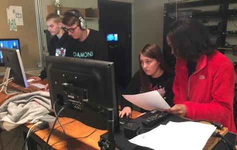 TV Production class steps it up