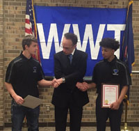 TWO STATE CHAMPS RECOGNIZED BY MAYOR AND STATE REPRESENTATIVE