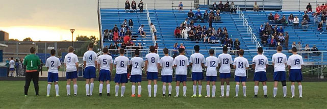 VARSITY SOCCER OPTIMISTIC ABOUT OUTLOOK FOR DISTRICTS