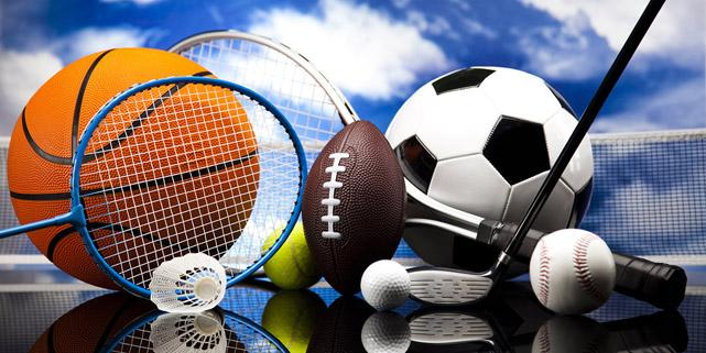 Four Sports, a lot of balls and stuff