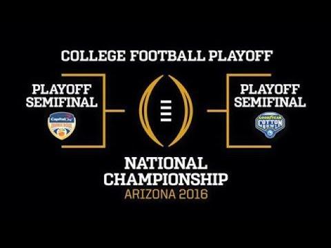 College Football Bowl Game Shakeup