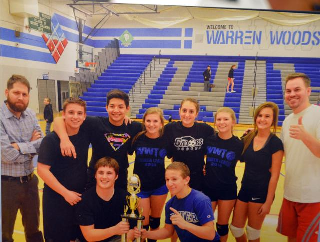 TOWER'S ANNUAL VOLLEYBALL TOURNAMENT