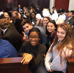 MOCK TRIAL TEAM PREPARES FOR FIRST COMPETITION