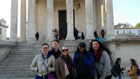 STUDENTS TAKE ON EUROPE
