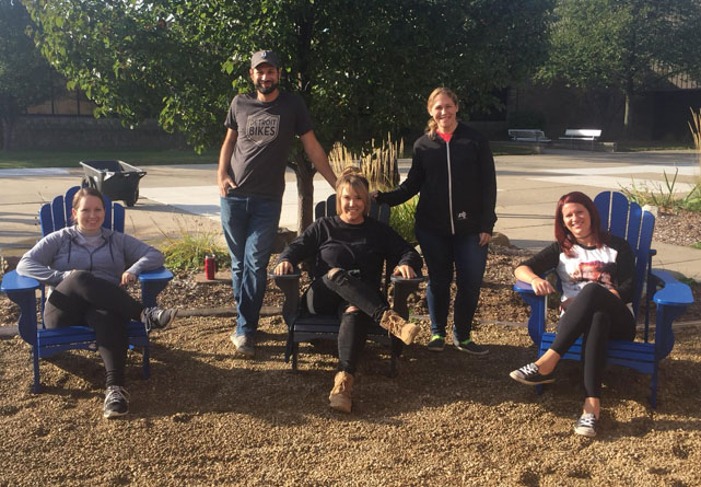 ALUMNI JOIN TOGETHER TO CREATE A MORE PEACEFUL ENVIRONMENT AT WWT