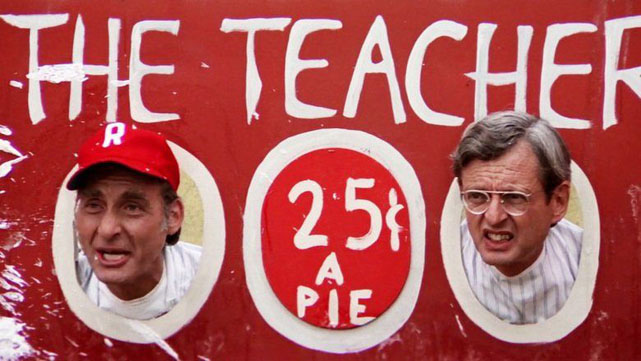 'THROW' IN YOUR MONEY, ONLY $1 FOR THE CHANCE TO PIE A TEACHER