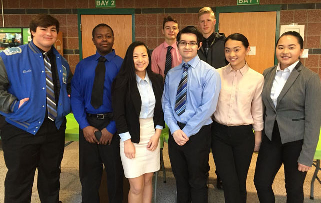 WWT STUDENTS GO BIG AT 'DECA' COMPETITION