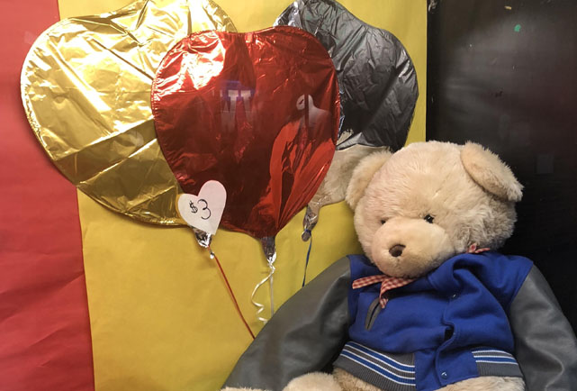 THE CAMPUS CORNER HAS BALLOON SALE TO CELEBRATE VALENTINE'S DAY