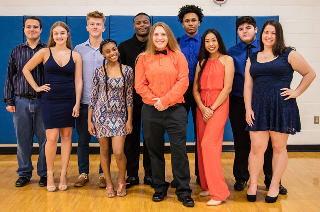 WWT HOMECOMING COURT 2018!!! Meet your representatives…