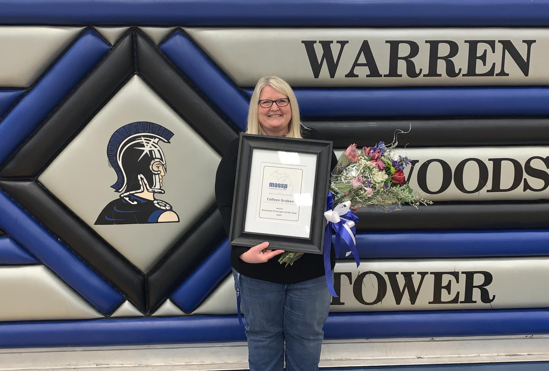 Congratulations Mrs. Gruben!!
