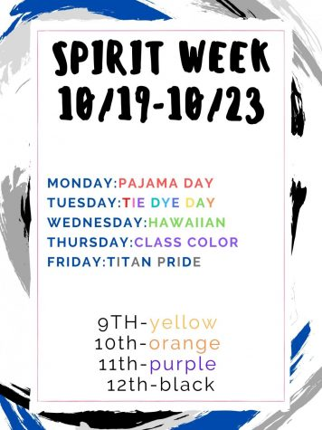 2020 Fall Spirit Week