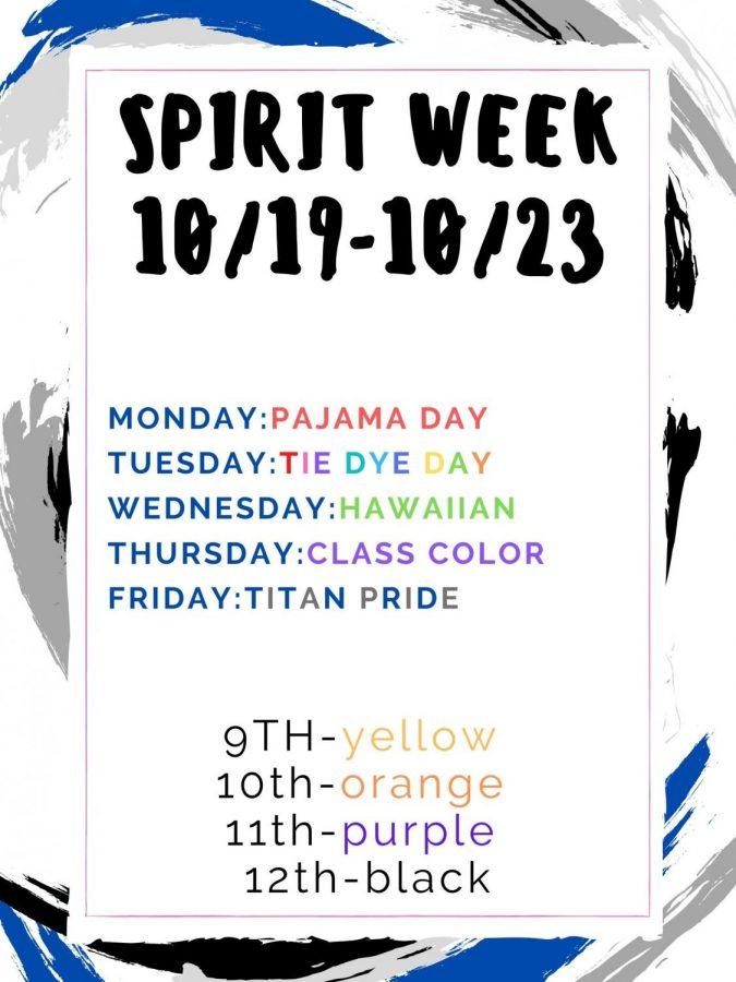 2020 Fall Spirit Week